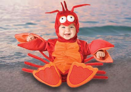 lobster kids outfit