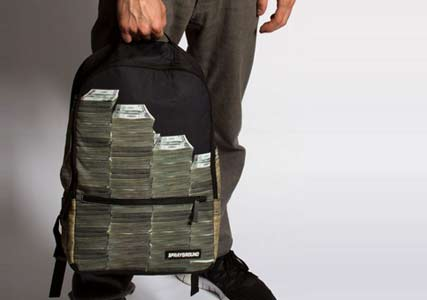 Sprayground Money Bag Backpack