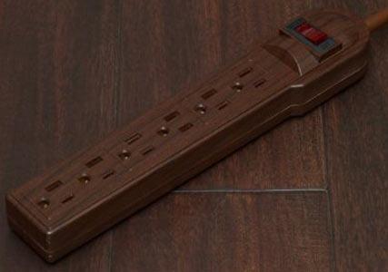 wood effect powerboard