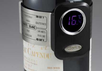 red wine thermomitor