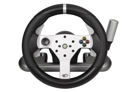 Officially licensed Wireless Force Feedback Wheel for Xbox 360®