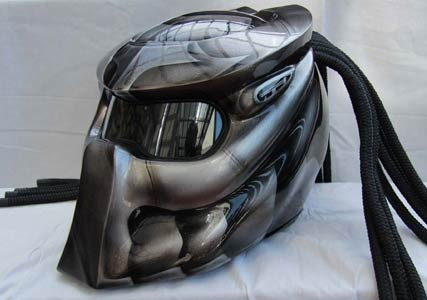 Predator motorbike Helmet