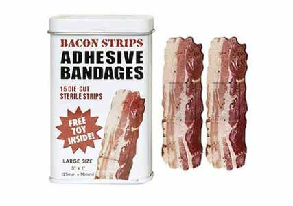 bacon plasters