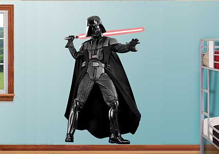 darth vadre wall sticker