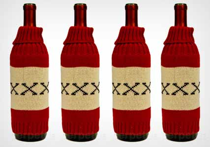 knitted beer holders