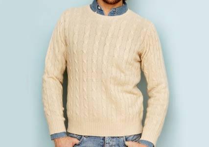 mens cashmere jumper