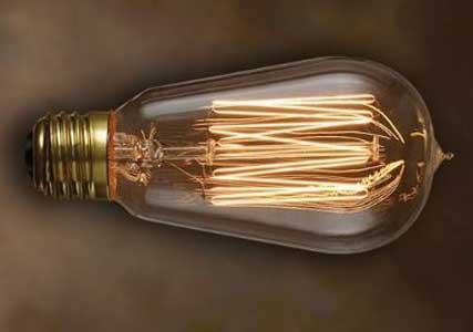 Nostalgic Edison Squirrel Cage-style Bulb