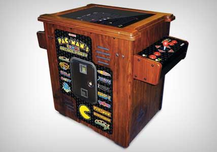 pac man anniversary coffee table