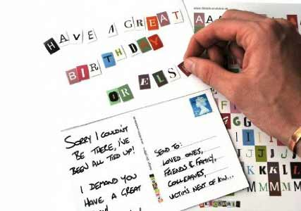 ransom note kit