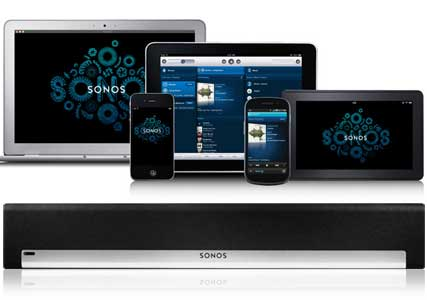 sonos home music wifi