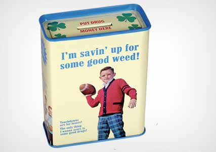 weed saving tin