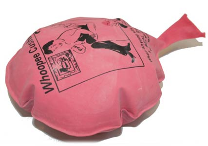 Whooppee cushion