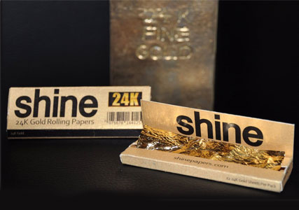 24kt gold rolling papers