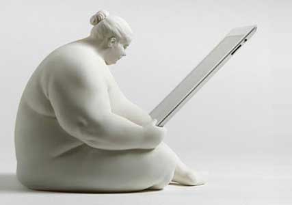 fat lady ipad dock