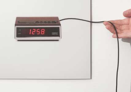 flat wall clock 2d