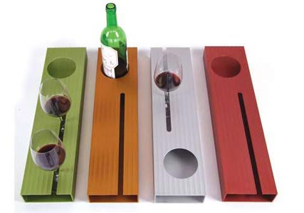 plastic wine tray