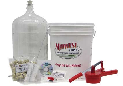 wine brewing kit