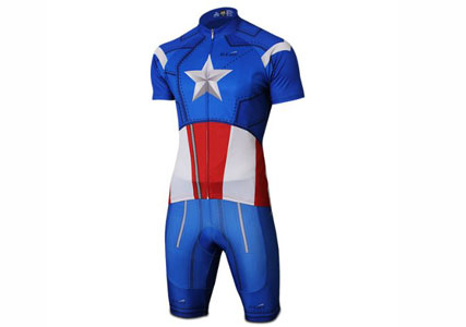 captain america cycling jersey