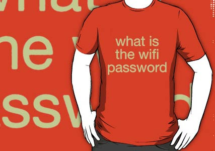 what is the wifi passowrd