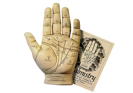 Palm reading marriage line kit