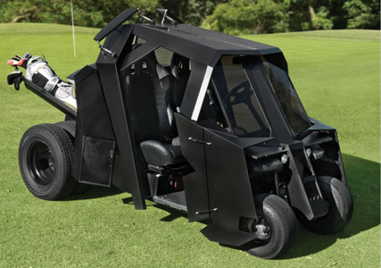Pimped out golf carts